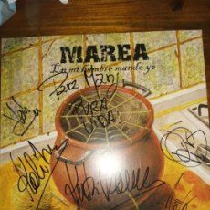 Discos de vinilo: VINILO MAREA-EN MI HAMBRE MANDO YO. FIRMADO. Lote 194275561