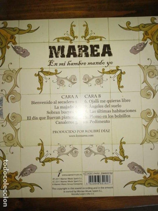 Discos de vinilo: Vinilo Marea-En mi hambre mando yo. Firmado - Foto 2 - 194275561