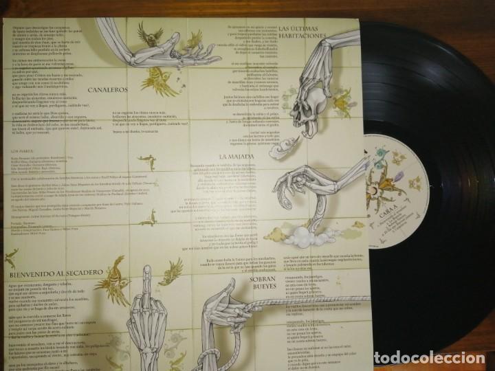 Discos de vinilo: Vinilo Marea-En mi hambre mando yo. Firmado - Foto 3 - 194275561