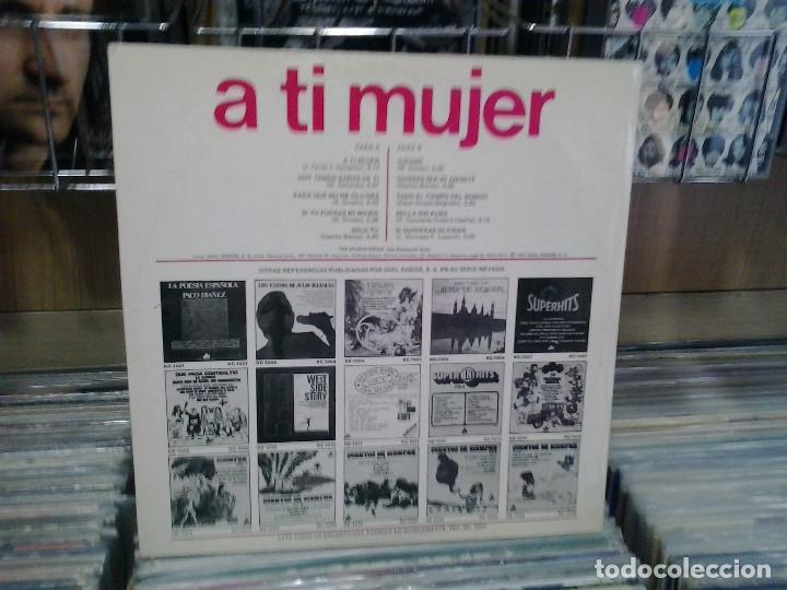Discos de vinilo: LMV - A ti mujer. The studio group. Dial discos 1977, ref.ND-1060 - Foto 2 - 194276295