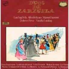 Discos de vinilo: DUOS DE ZARZUELA - LP 1971. Lote 194276473