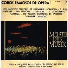 Discos de vinilo: COROS FAMOSOS DE OPERA - CORO Y ORQUESTA DE BERLIN - LP 1964 . Lote 194276825