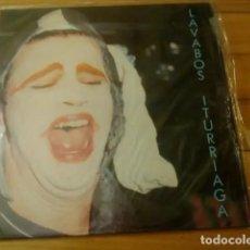 Discos de vinilo: LAVABOS ITURRIAGA - MINI ALBUM DISCOS SUICIDAS 1989. Lote 194278153