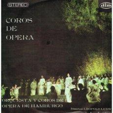 Discos de vinilo: COROS DE OPERA - ORQUESTA Y COROS DE LA OPERA DE HAMBURGO - DIR LEOPOLD LUDWIG - LP 1967. Lote 194278281