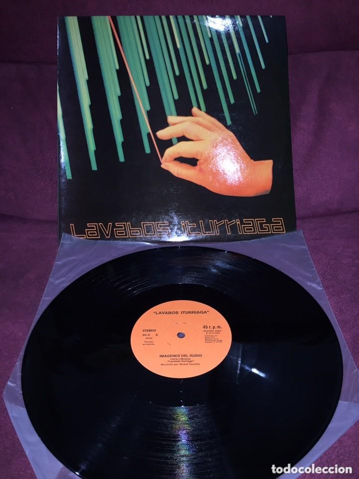 LAVABOS ITURRIAGA - IMAGENES DEL RUIDO - DISCOS SUICIDAS 1984 (Música - Discos - LP Vinilo - Grupos Españoles de los 70 y 80)