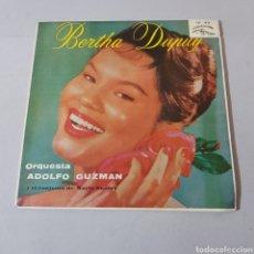 Discos de vinilo: BERTHA DUPUY - ORQUESTA ADOLFO GUZMAN Y EL CONJUNTO DE MARIO SUAREZ. Lote 194278462
