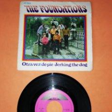Discos de vinilo: THE FOUNDATIONS. OTRA VEZ DE PIE . HISPAVOX 1969. Lote 194279366