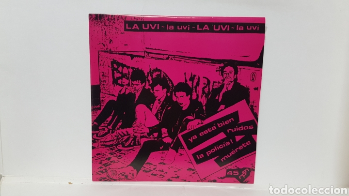 LA UVI (Música - Discos - Singles Vinilo - Punk - Hard Core)