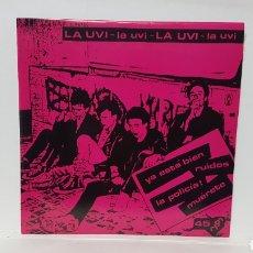 Disques de vinyle: LA UVI. Lote 194279483