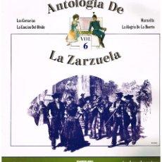 Discos de vinilo: ANTOLOGIA DE LA ZARZULA Nº 6 - ORQUESTA LIRICA GRAN VIA - DIR LUIS A. JANER - LP 1986 - BUEN ESTADO. Lote 194279538