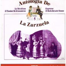 Discos de vinilo: ANTOLOGIA DE LA ZARZULA Nº 5 - ORQUESTA LIRICA GRAN VIA - DIR LUIS A. JANER - LP 1986 - BUEN ESTADO. Lote 194279647