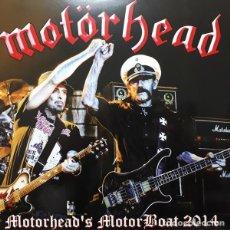 Discos de vinilo: MOTÖRHEAD – MOTORHEAD'S MOTORBOAT 2014 -LP-. Lote 194280365