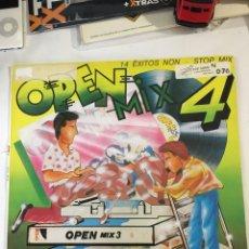 Discos de vinilo: OPEN MIX 4-1988-MUY RARO EN VINILO. Lote 194280396