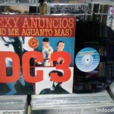 Discos de vinilo: LMV - SEXY ANUNCIOS (NO ME AGUNTO MÁS). DC 3. FONOMUSIC 1993, REF. 04.3565. Lote 194281753