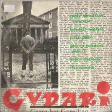 Discos de vinilo: GUDARI. EUSKO ABES BATZA. GAZTE BAT GERNIKAN. EP. EDICIONES GUDARI. PARIS.. Lote 194281841