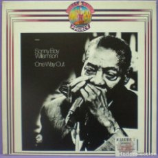 Discos de vinilo: SONNY BOY WILLIAMSON - ONE WAY OUT - LP EDICIÓN DE 1981. Lote 194282215