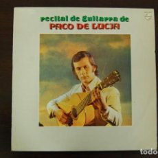 Discos de vinilo: PACO DE LUCÍA -RECITAL DE GUITARRA-. Lote 194282460