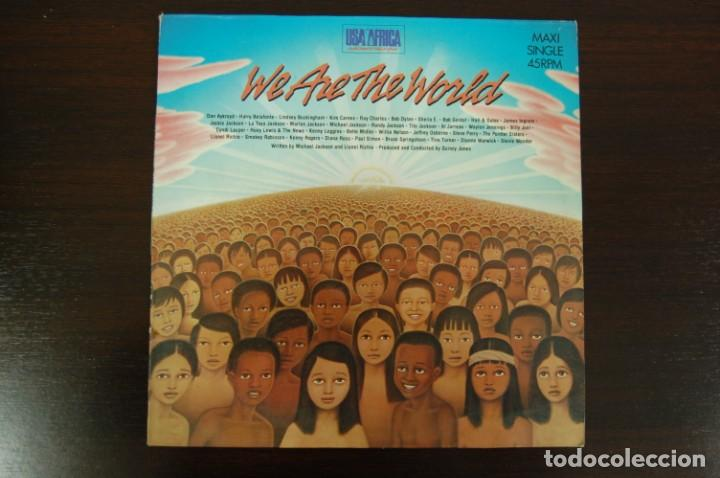 USA FOR AFRICA -WE ARE THE WORLD- (Música - Discos de Vinilo - Maxi Singles - Étnicas y Músicas del Mundo)