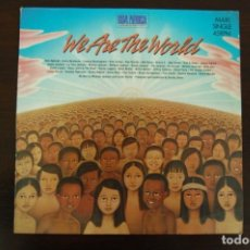 Discos de vinilo: USA FOR AFRICA -WE ARE THE WORLD-. Lote 194282898