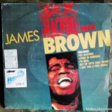 Discos de vinilo: JAMES BROWN - SEX MACHINE MIX 45 RPM, PARTIALLY MIXED, PROMO 1992 SOUL, FUNK . Lote 194283132