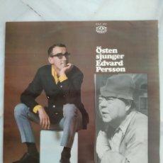 Discos de vinilo: ÖSTEN SJUNGER. EDVARD PERSSON. LP VINILO. 1967.. Lote 194283363