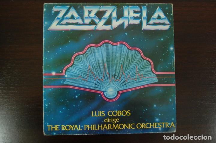 LUIS COBOS -ZARZUELA- (Música - Discos de Vinilo - EPs - Clásica, Ópera, Zarzuela y Marchas)