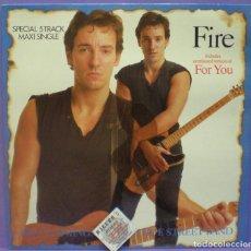 Discos de vinilo: BRUCE SPRINGSTEEN - FIRE / FOR YOU - MAXI SINGLE 12' EDICIÓN ESPAÑOLA 1987. Lote 194284921