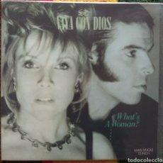 Discos de vinilo: VAYA CON DIOS–WHAT'S A WOMAN?. Lote 194288581