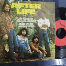Discos de vinilo: AFTER LIFE SINGLE TRY PEOPLE TRY ESPAÑA 1975. Lote 194290012