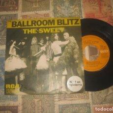 Discos de vinilo: THE SWEET. BALLROOM BLITZ.(RCA 1973) OG ESPAÑA. Lote 194290282