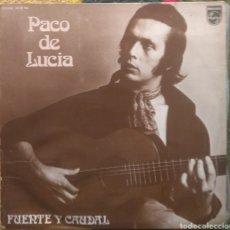 Discos de vinilo: PACO DE LUCIA–FUENTE Y CAUDAL. Lote 194291372
