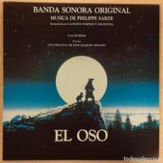 Discos de vinilo: EL OSO (THE BEAR / L´OURS) PHILIPPE SARDE. Lote 194296621
