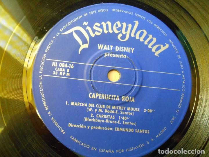 Discos de vinilo: WALT DISNEY - CAPERUCITA ROJA -, EP , CUENTO + 1, AÑO 1971 - Foto 13 - 194296873
