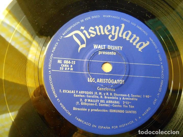 Discos de vinilo: WALT DISNEY - LOS ARISTOGATOS -, EP , CUENTO + 1, AÑO 1971 - Foto 13 - 194297543