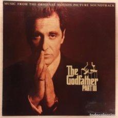 Discos de vinilo: EL PADRINO, PARTE III (THE GODFATHER PART III) CARMINE COPPOLA / NINO ROTA. Lote 194297702