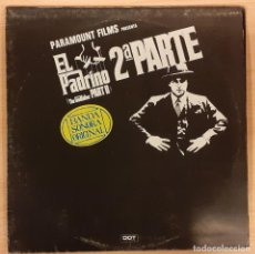Discos de vinilo: EL PADRINO 2ª PARTE (THE GODFATHER PART II) NINO ROTA. Lote 194298105