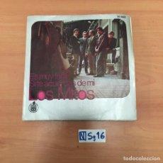 Discos de vinilo: LOS MITOS. Lote 194298157