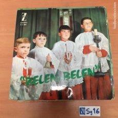 Discos de vinilo: BELEN, BELEN. Lote 194298367