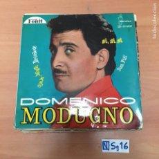Discos de vinilo: DOMENICO MODUGNO. Lote 194298500