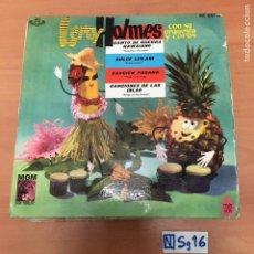 Discos de vinilo: LEROY HOLMES. Lote 194298565