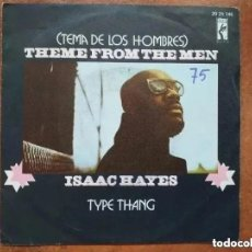 Discos de vinilo: ISAAC HAYES - THEME FROM THE MEN (SG) 1972. Lote 194300727