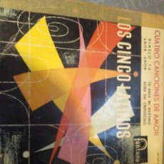 Discos de vinilo: LOS CINCO LATINOS. Lote 194300875