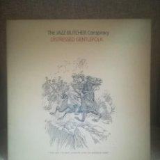 Discos de vinilo: THE JAZZ BUTCHER CONSPIRACY.DISTRESSED GENTLEFOLK.GLASS RECORDS GLALP 020.UK 1986.. Lote 194300997