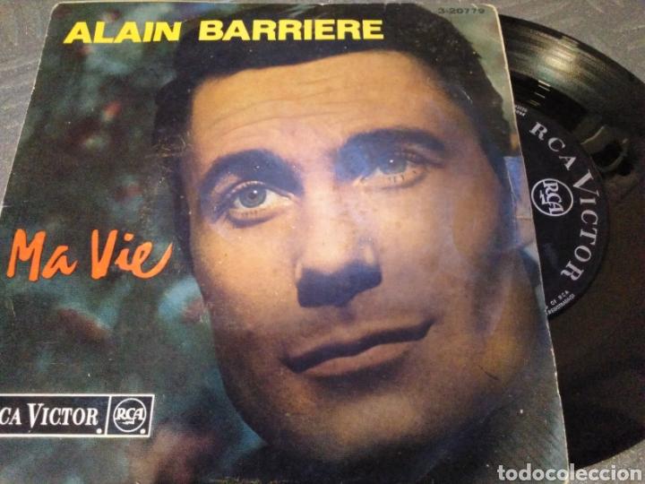 ALAIN BARRIERE (Música - Discos de Vinilo - EPs - Solistas Españoles de los 70 a la actualidad)