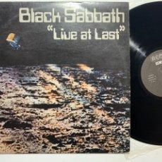 Dischi in vinile: LP BLACK SABBATH LIVE AT LAST EDICIÓN ESPAÑOLA DE 1980. Lote 194302697