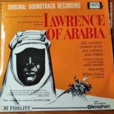 Discos de vinilo: LAWRENCE OF ARABIA - LP DE LA BANDA SONORA- . Lote 194303596