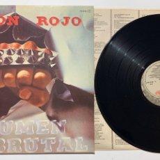 Discos de vinilo: LP PARA UN ROJO VOLUMEN BRUTAL EDICIÓN ESPAÑOLA DE 1982. Lote 194303947