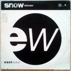 Discos de vinilo: SNOW – INFORMER EUROPE 1993 . Lote 194304166