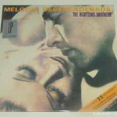 Discos de vinilo: THE RIGHTEOUS BROTHERS - MELODIA DESENCADENADA - 2XLP - POLYGRAM 1991. Lote 194304228