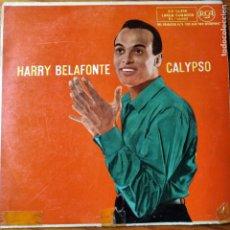 Discos de vinilo: HARRY BELAFONTE- CALYPSO - LP AÑOS 50 ESPAÑA-. Lote 194304262